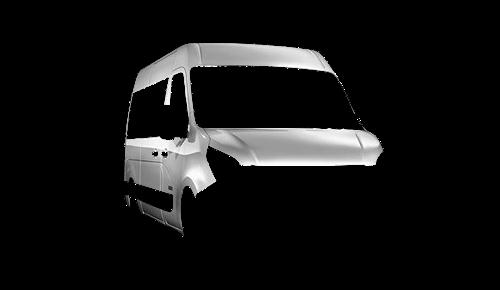 Цвета кузова NV400 Combi